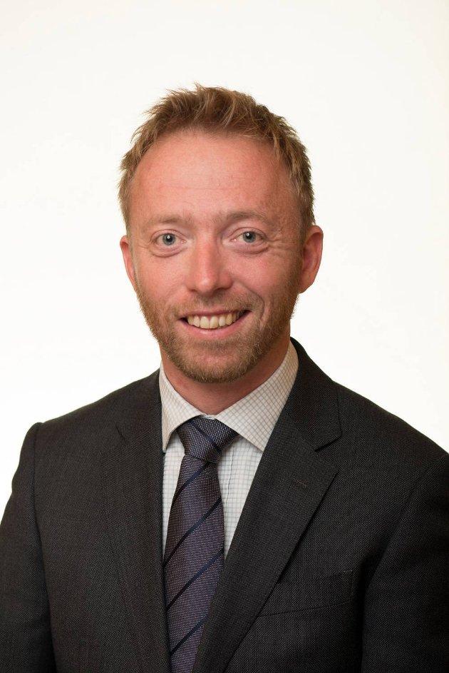 John Ragnar Aarset, statssekretær.