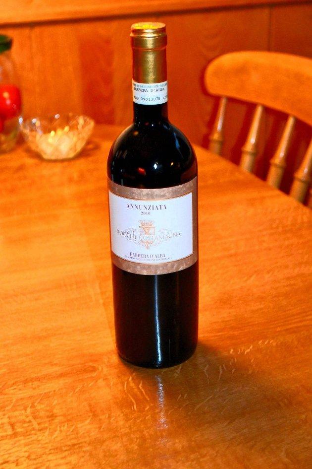 Annunziata. Rødvin