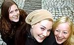 Jannicke Larsen Inger Lise Størksen og Christine Sandtorv i Ephemera.