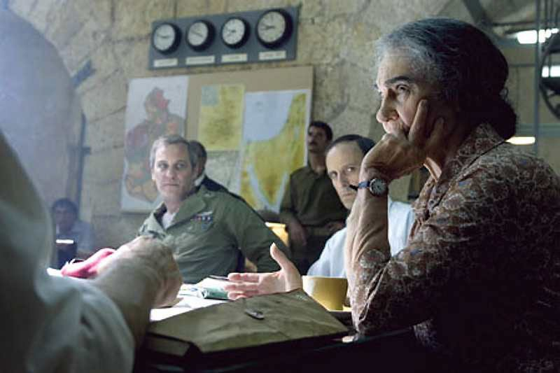 Golda Meir playd by Lynn Cohe i Steven Spielbergs feature film.