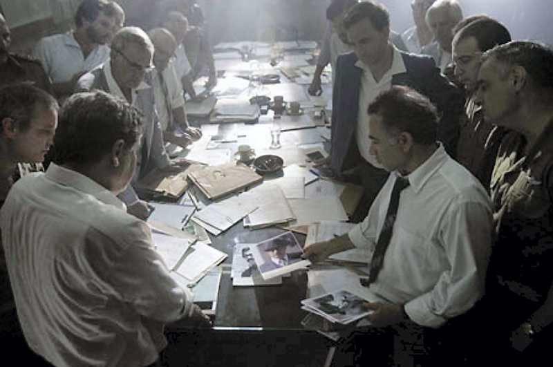 Scene for Steven Speilbergs film Munchen.
