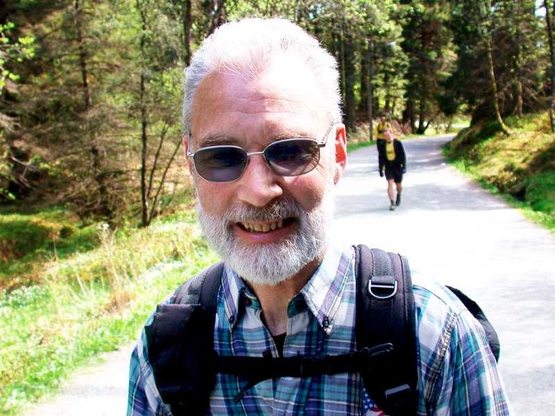 Gamleordfører Ingemar Ljones (62)  som går 7-fjellsturen for 9. gang.              (Foto: Tove Gulbrandsen)