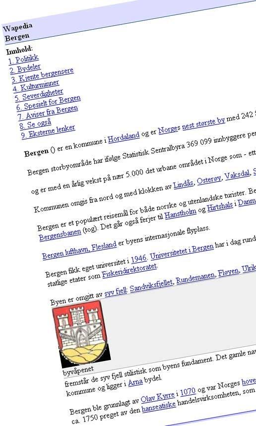 Fra no.wapedia.org (20.06.2006).