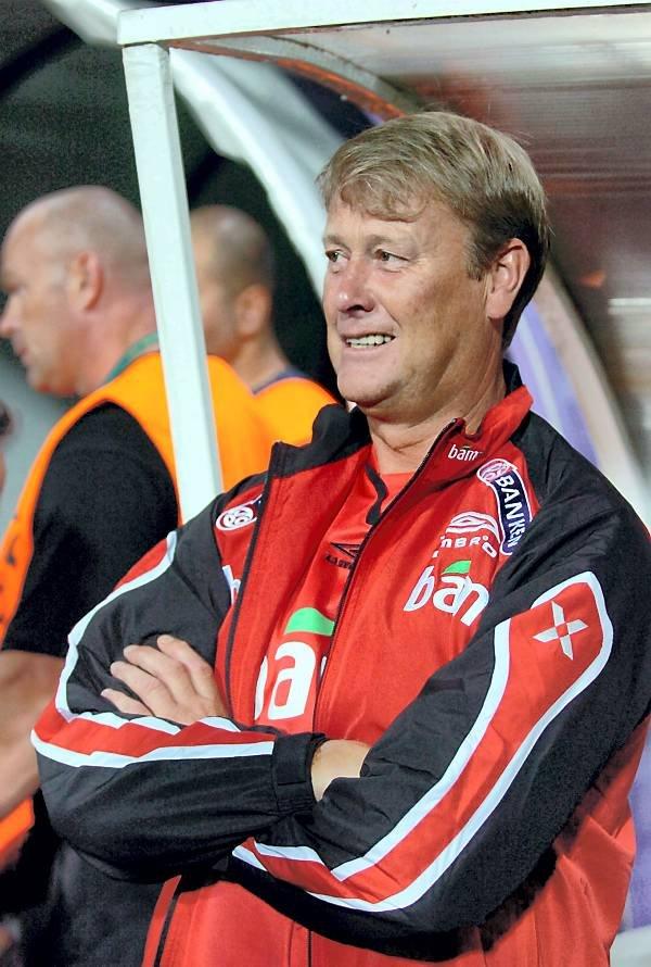 Åge Hareides menn spiller mot Moldova.  (Foto: Terje Pedersen, ANB)