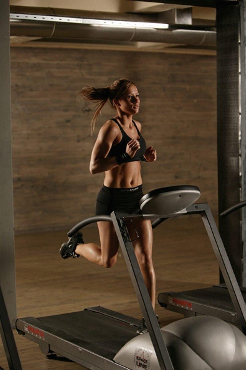 Lene Hansen er veldig opptatt av trening og fitness. (Foto: Pressefoto)