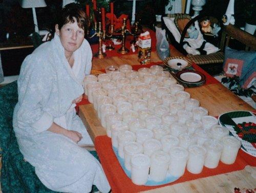 STOR PRODUKSJON: Siri Thengs fra Ådal har produsert mer morsmelk enn de aller fleste i landet.     Foto: Privat