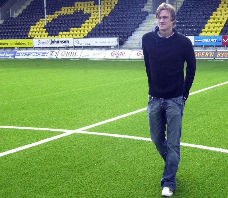 Siste signering.  Johan Lædre Bjørdal signerte kontrakt med Glimt i august. Den lovende Viking-spilleren er eneste sikre nykommer i Glimt, fram til Thiago Martins får italiensk pass.Foto: Pål Guttormsen