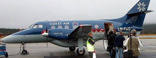 Coast Air ønsker å bruke en slik Jetstream-maskin til og fra Røros i sommer.