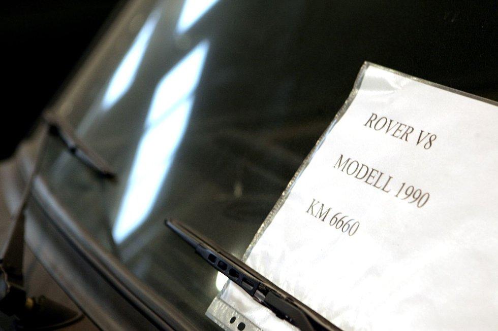 PENT BRUKT: Bilene som selges er svært pent brukt.