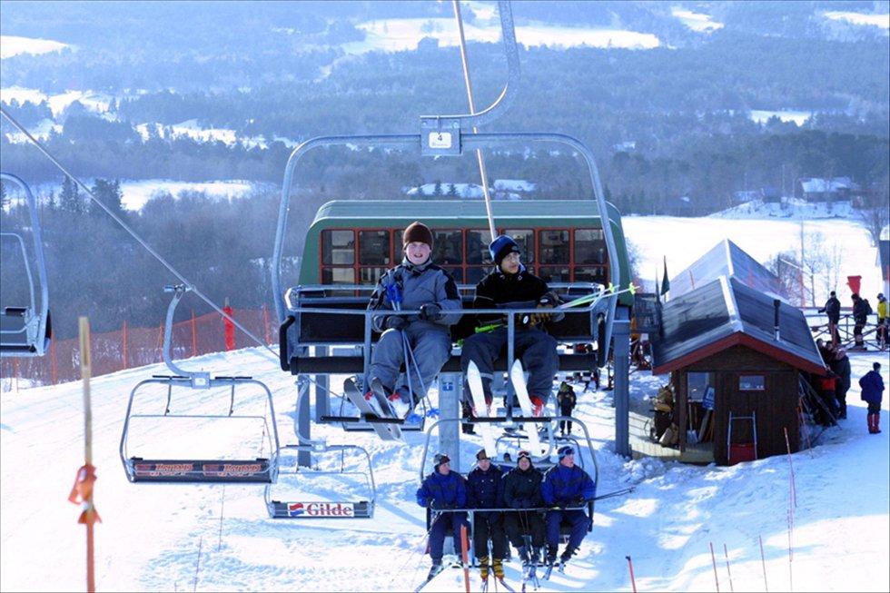 STÅR:  De fleste av skiheisene i Oppdal står i dag. Arkivfoto