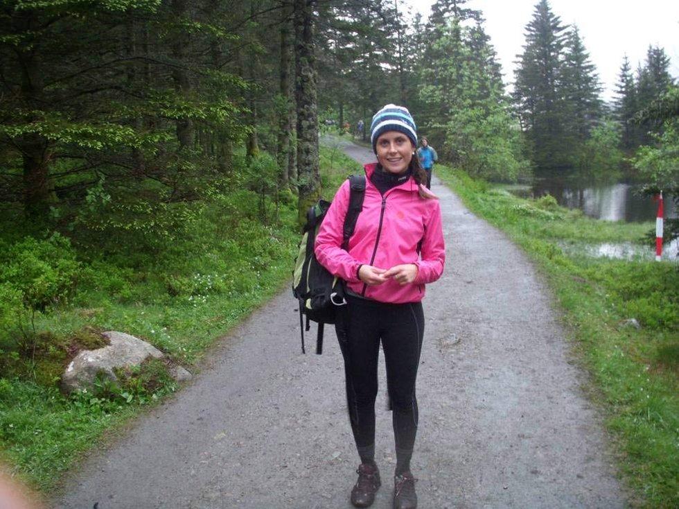 Vel fremme på Sandviksfjellet. Blant de siste, klokken 2200 (24.05.2009). (Foto: Line Fosse)