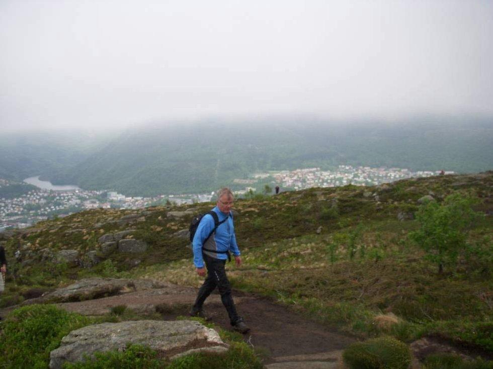 Mange steder gikk folk i kø,. mens man andre steder fikk gå mer i fred (24.05.2009). (Foto: Line Fosse)