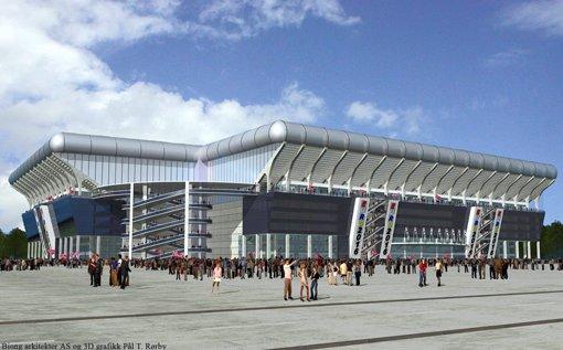 DAG: Slik vil stadionet se ut i dagslys.