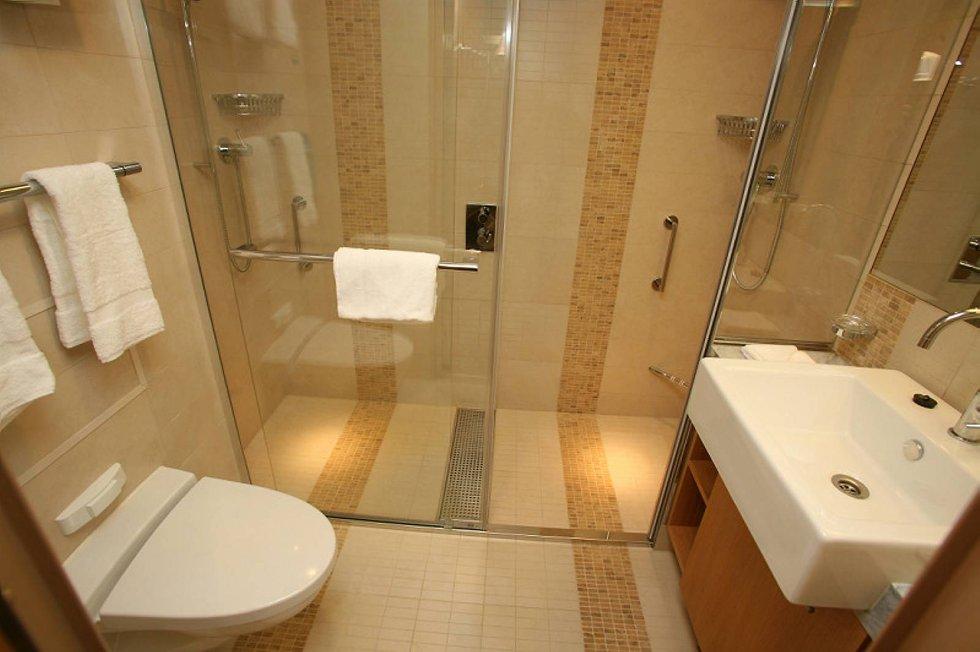De fleste ville vært fornøyd med et slikt bad hjemme. (Foto: RCCL/ANB)