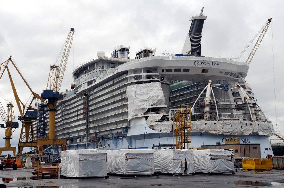 Den kommende kongen av cruiseskipene. (Foto: Thomas Hildonen, ANB)