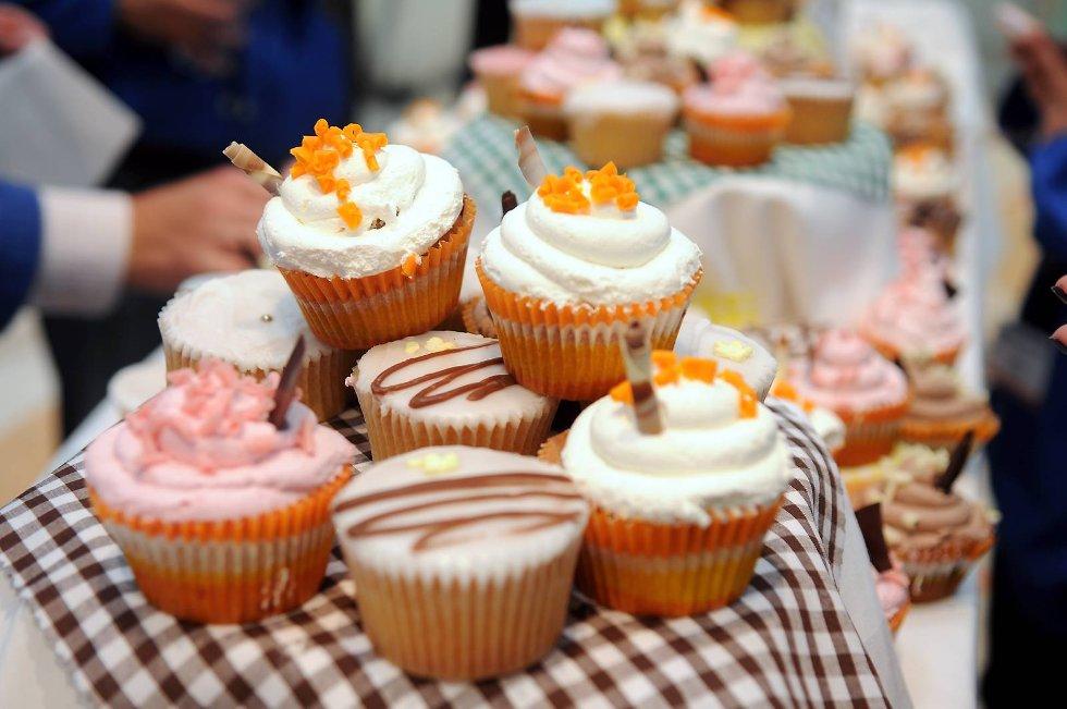 Cup cakes.  (Foto: Thomas Hildonen, ANB)