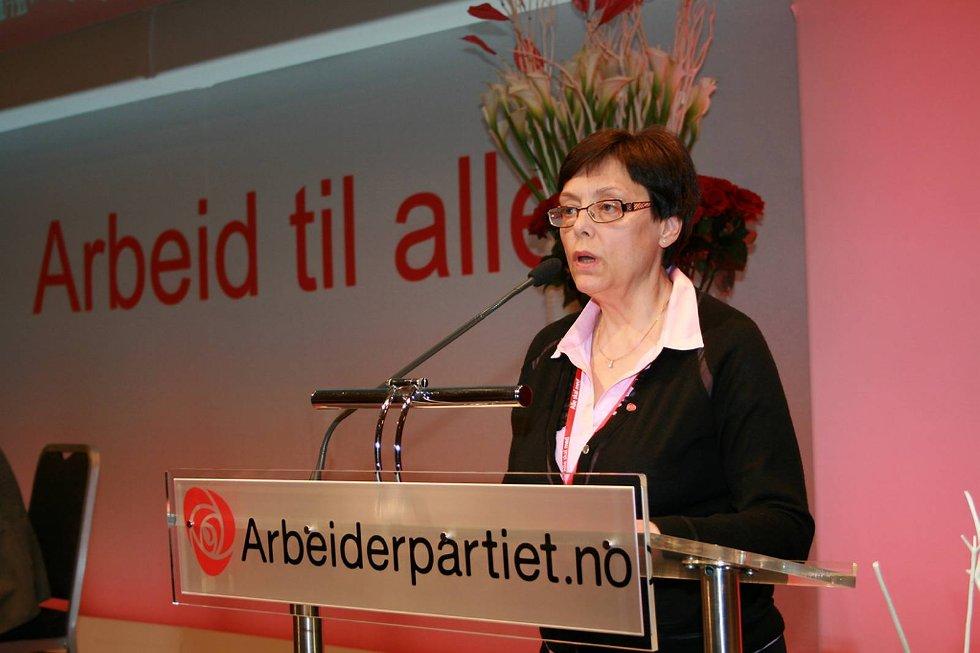 VETERAN: Gerd Janne Kristoffersen (Ap) er utdannet sykepleier.