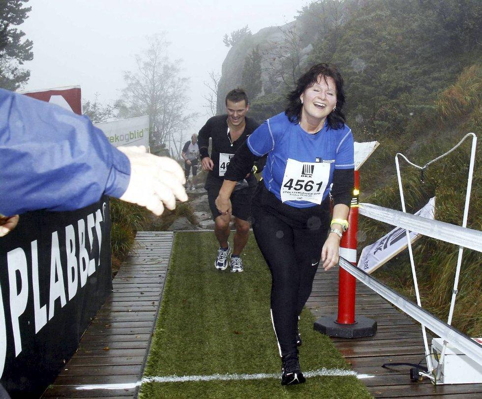 Anne Heidi Midtun i klasse 45-49 år. (Foto: Anders Mo Hanssen)