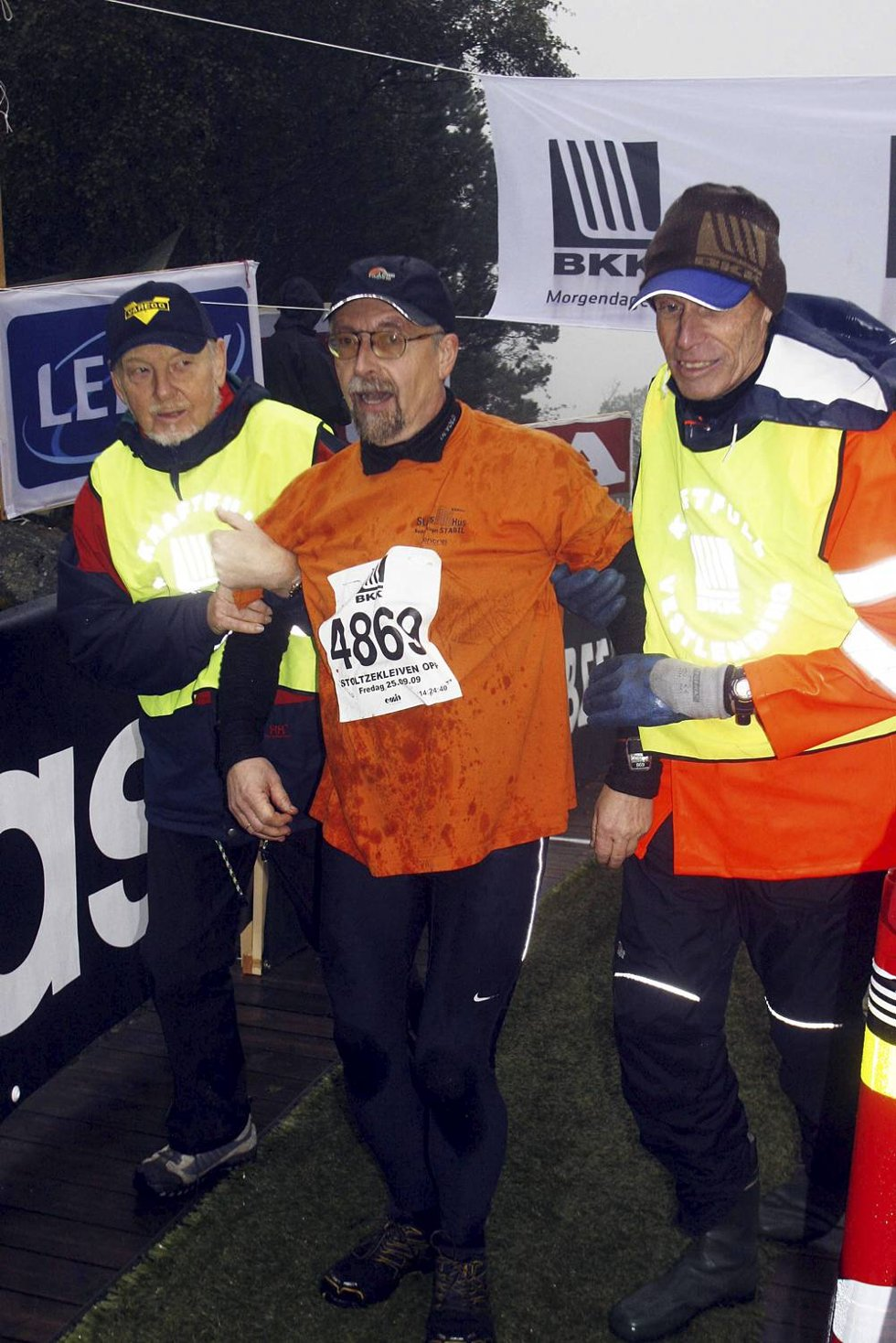 Bjarne Hollund i klasse 60-64 år. (Foto: Anders Mo Hanssen)