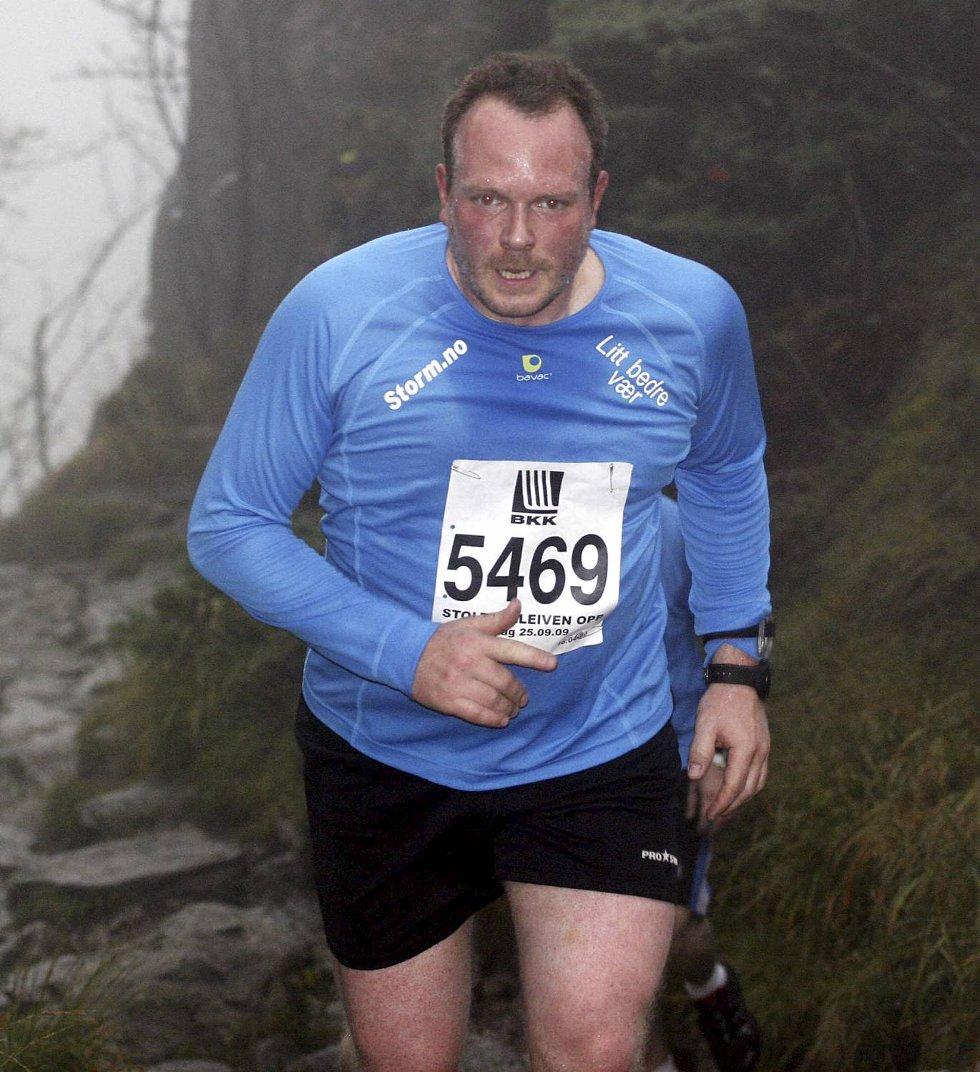 Endre Solem i klasse pluss 90 kilo... (Foto: Anders Mo Hanssen)