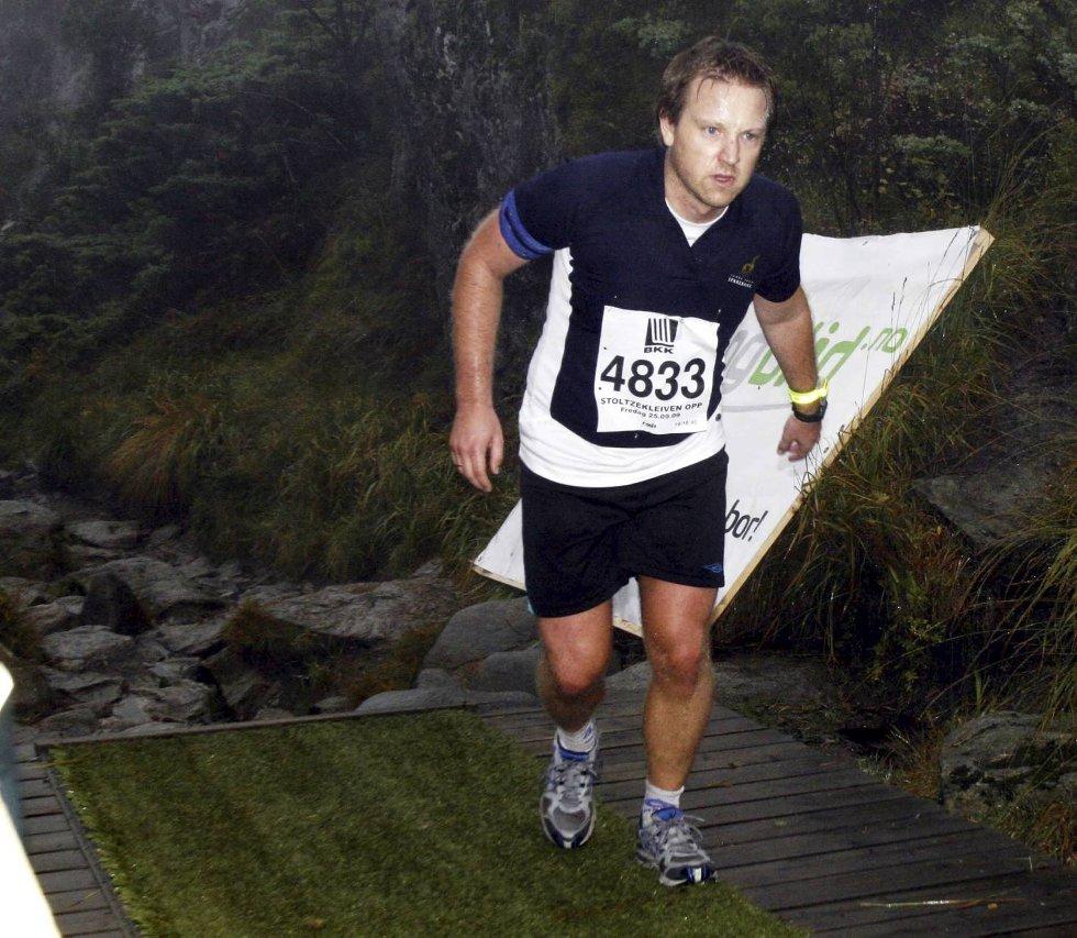 Erik Bentdal Støverud i klasse 18-34 år. (Foto: Anders Mo Hanssen)