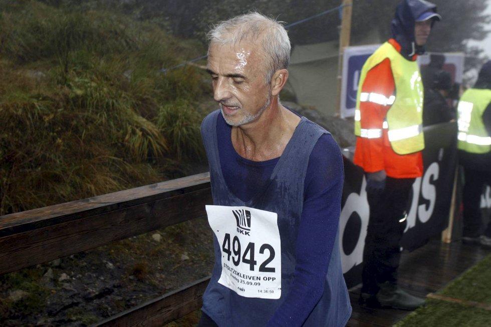 Eystein Lien i klasse 60-64 år. (Foto: Anders Mo Hanssen)