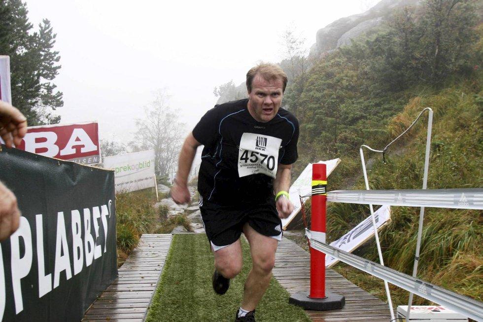 Geir Sverre Tofte i klasse 40-44 år. (Foto: Anders Mo Hanssen)