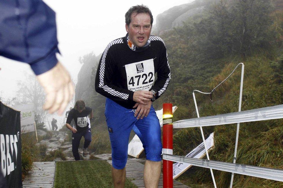 Harald Lie i klasse 50-54 år. (Foto: Anders Mo Hanssen)