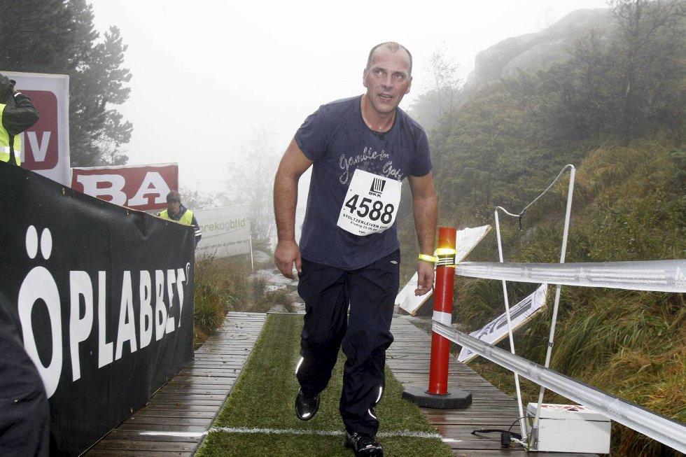 Kjell Henning Tvedt i klasse 40-44 år. (Foto: Anders Mo Hanssen)