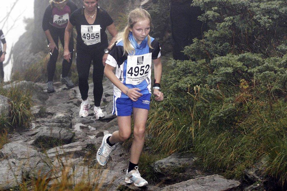 Kristine Døsvik i klasse jenter 12-14 år. (Foto: Anders Mo Hanssen)