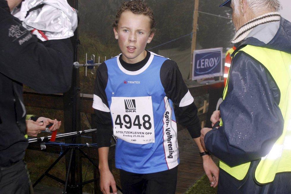 Mats Jensen Ryland i klasse gutter 15-17 år. (Foto: Anders Mo Hanssen)