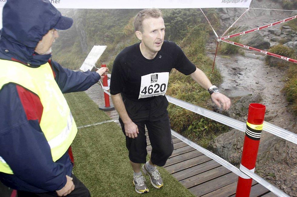 Olav Hausberg i klasse 35-39 år. (Foto: Anders Mo Hanssen)