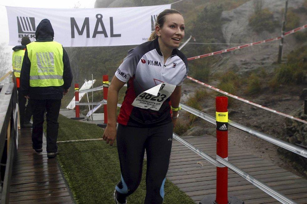 Synnøve Sørdal i klasse 18-34 år. (Foto: Anders Mo Hanssen)
