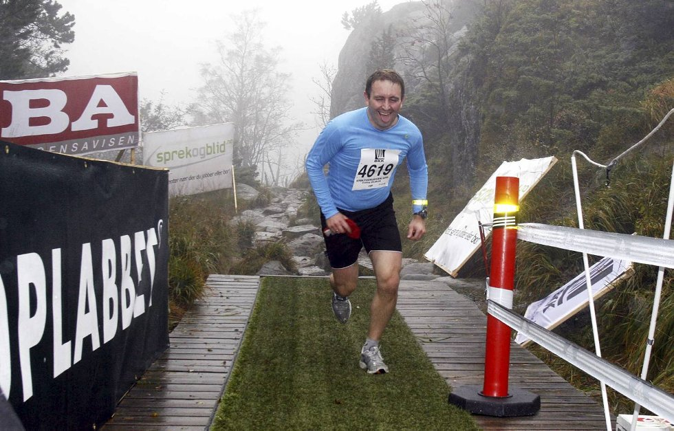 Torstein Larsen i klasse 35-39 år. (Foto: Anders Mo Hanssen)