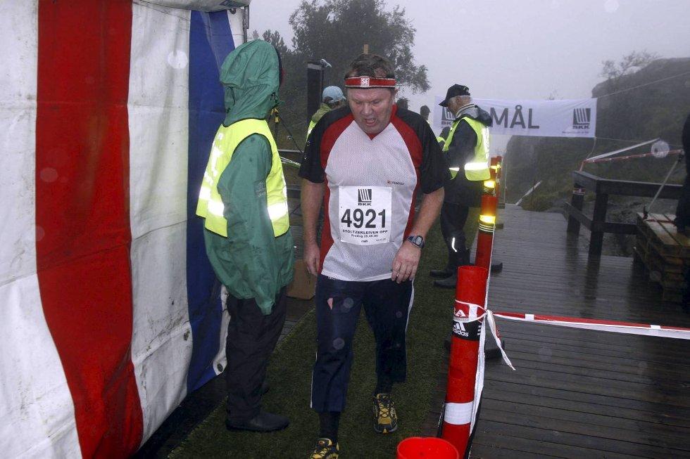 Ørjan Eirik Valestrand i klasse pluss 90 kilo. (Foto: Anders Mo Hanssen)