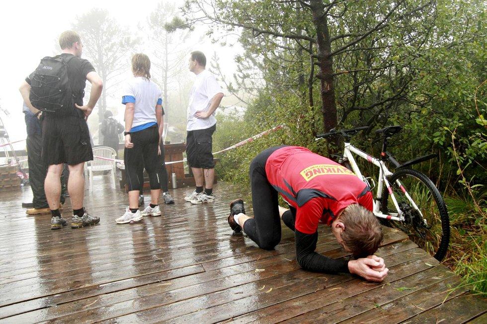 Skuffet: - Det er mitt dårligste resultat på de fjorten gangene jeg har vært med, deppet Steinar Lindelid. (Foto: Nikita Solenov)