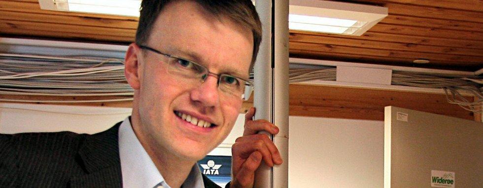 Erik Lahnstein, statssekretær i Samferdselsdepartementet