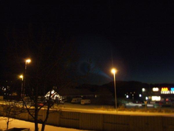 Bildene ble tatt fra Kanebogen i Harstad 07:45 -07:50                                    (Foto: )