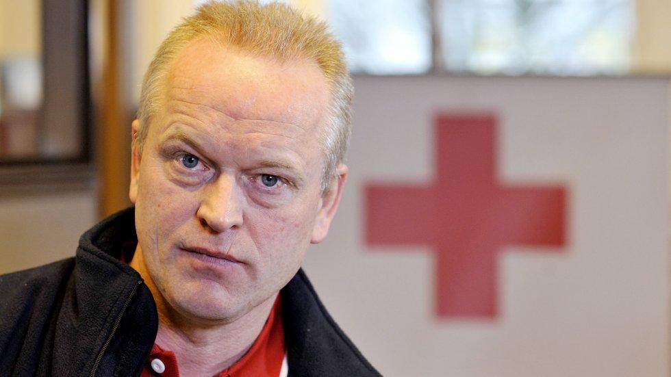 Nødhjelpskoordinator i Norges Røde Kors, Jan Egil Mosand.
