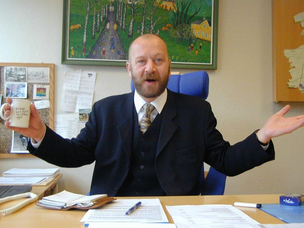Satser på kultur: Olaf Brastad, styreleder i Teater Ibsen, mener Larvik har skjønt hvordan man bygger en by. - Det er ved å satse på kultur, sier han. (Foto: Nils-Erik Kvamme)