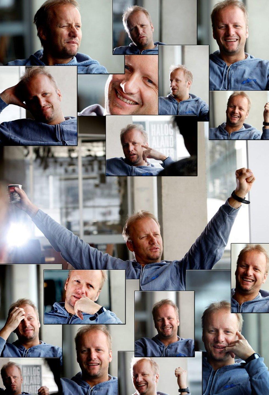 MANGFOLDIG: Hallvard Holmen har mange uttrykk. Så har han da også prøvd de fleste sjangre.