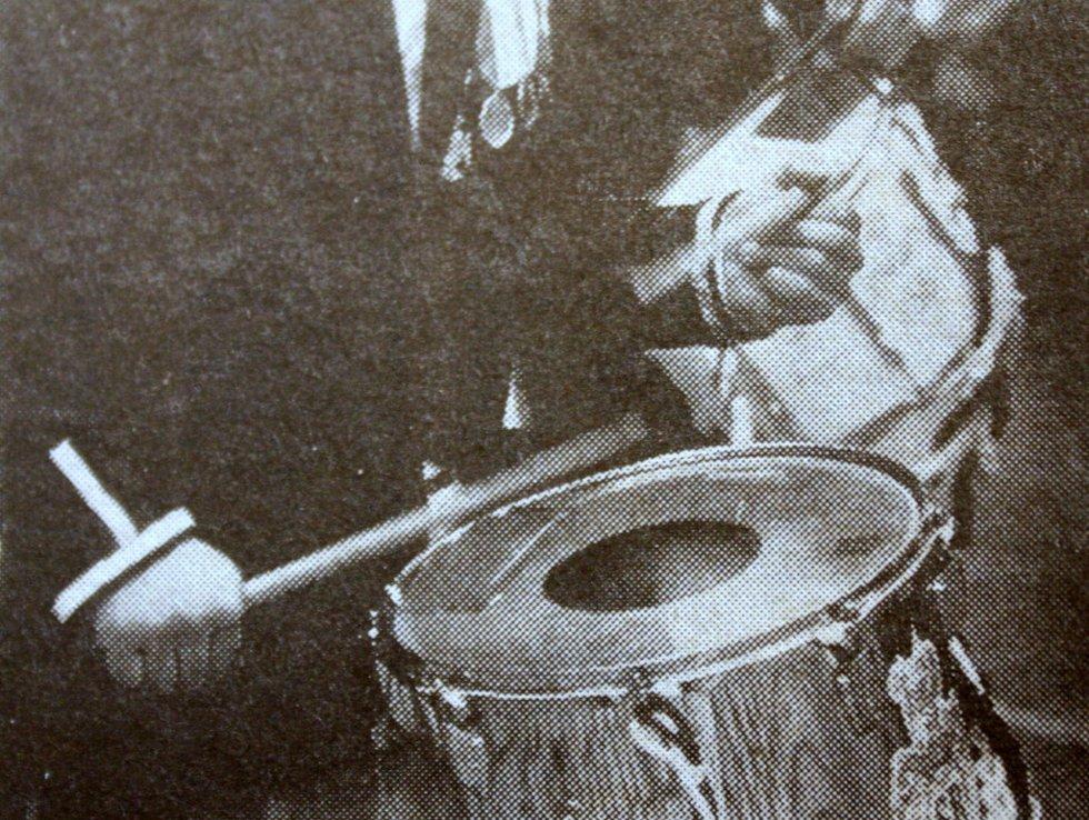 """""""De lot høre fra seg"""". Bildet er fra 17. mai 1983. (Foto: BA)"""