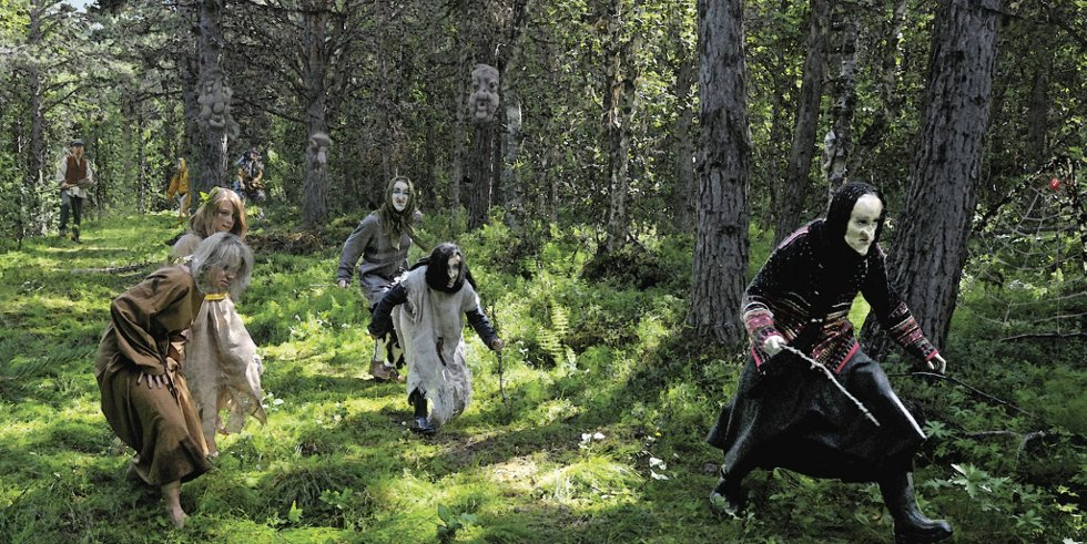 Troll, skrømt og andre halvskumle typer er på veg til Eventyrfestival i Heidal.