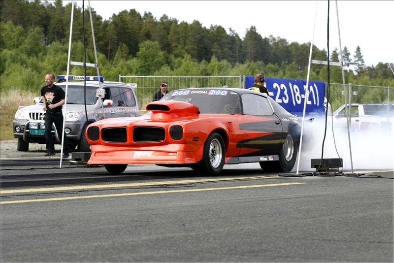 KJØRTE SEG TIL FINALEN: Johan Lund kjørte seg helt til finalen søndag, men måtte se seg slått av Terje Aune.