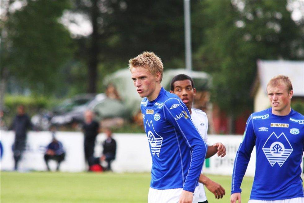Ivar Erlien Furu er tatt ut i G17-troppen som skal spille landskamper i Portugal. (Arkiv.)