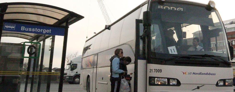 Kollektivtransporten i Bodø skaper debatt.