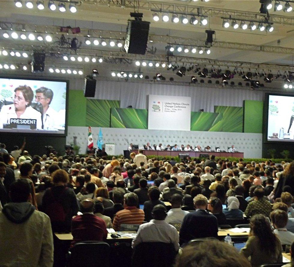 DILEMMA: Den internasjonale klimakonferansen i Cancun i desember i fjor viste tydelig de utenrikspolitiske og etiske dilemmaer som alle nasjoner på vurdere og ta hensyn til.
