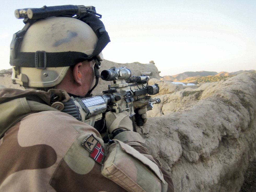 Rekordmange ønsker å bli soldater i Telemark bataljon.