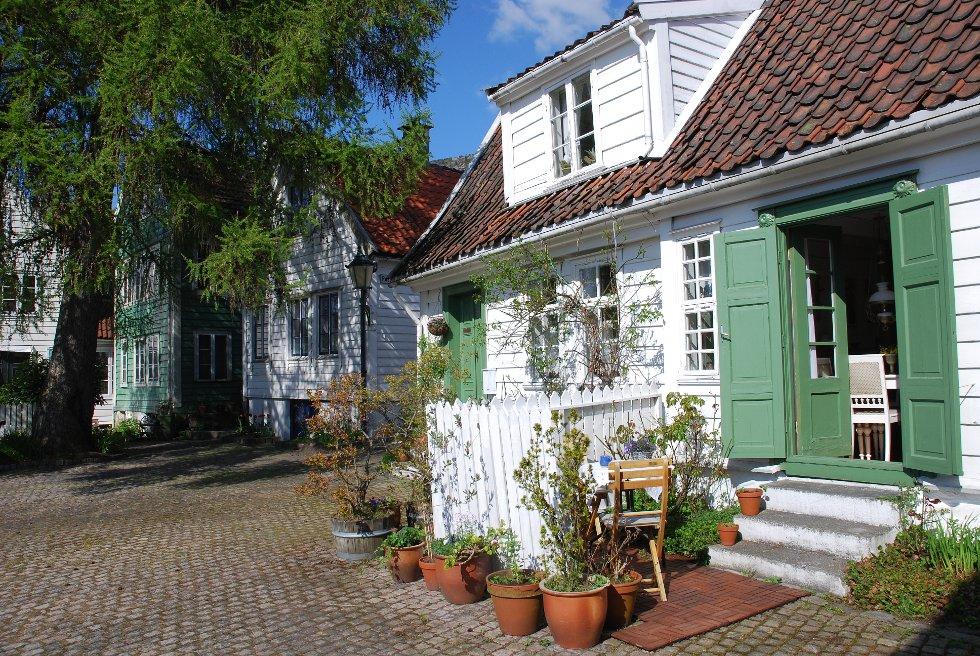 Rosesmuggrenden: Det ekte gamle Bergen (Foto: METTE BAKKE)