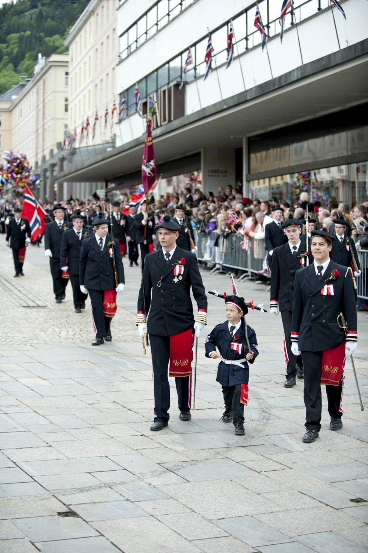 Wesselengens Bataljon klatret i år til topp tre i BAs kåring.  (Foto: Skjalg Ekeland)